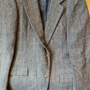 Other - Wool plaid sport jacket